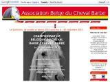 Association Belge du cheval Barbe