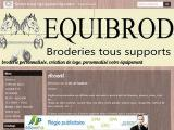 Equibrod broderie